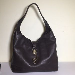 Dooney and Bourke brown leather shoulder bag